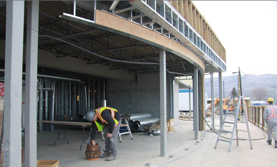 Kamloops Construction January update